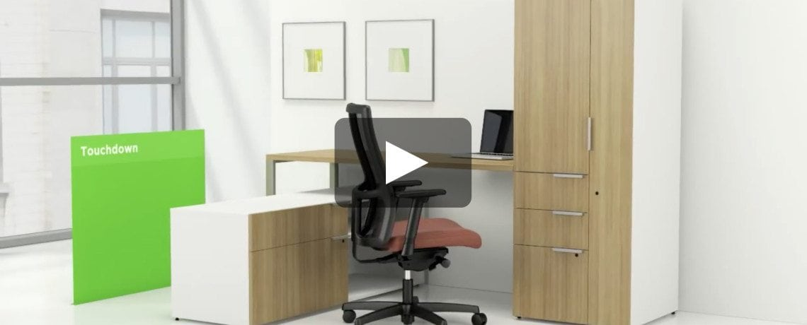 Voi Desk System from The HON Company